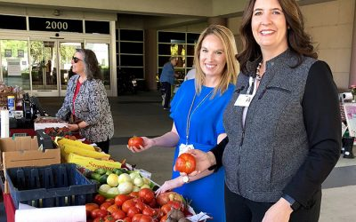 Sutter Davis Hospital Farmers Market returns