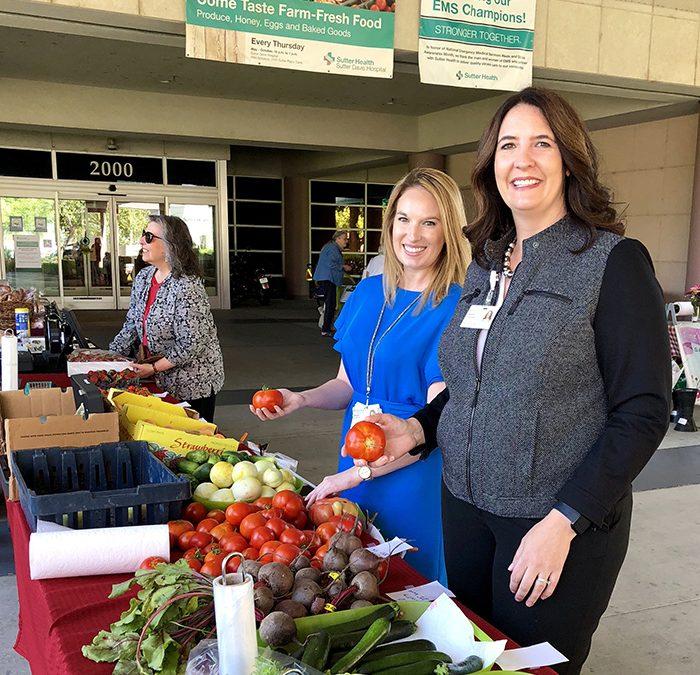 Sutter Davis Hospital Farmers Market returns