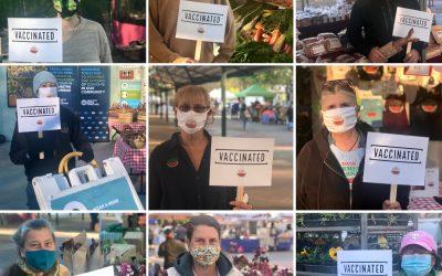 Market vendors, staff resolve to mask up